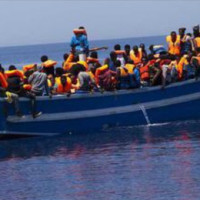 Migranti in Barcone